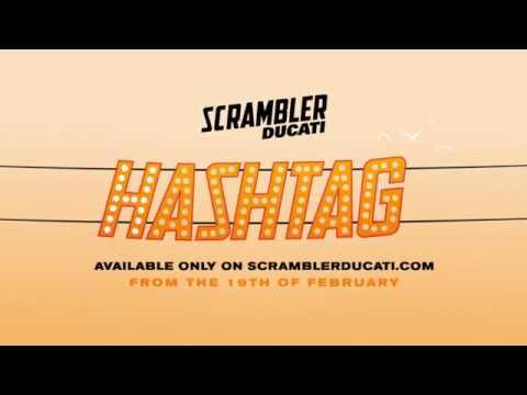 Ducati Scrambler Hastag