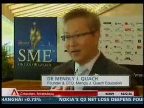SME One Asia Awards - CNA SINGAPORE TONIGHT( 10pm 19Jul 2012 )