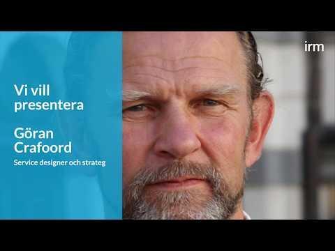 Göran Crafoord undervisar i Service Design på IRM:s utbildning Certifierad verksamhetsutvecklare