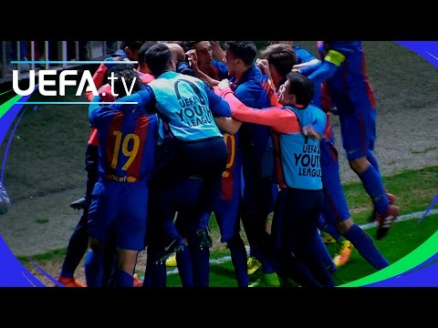 Highlights: Watch Barcelona comeback to make last four