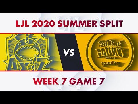AXZ vs SHG|LJL 2020 Summer Split Week 7 Game 7