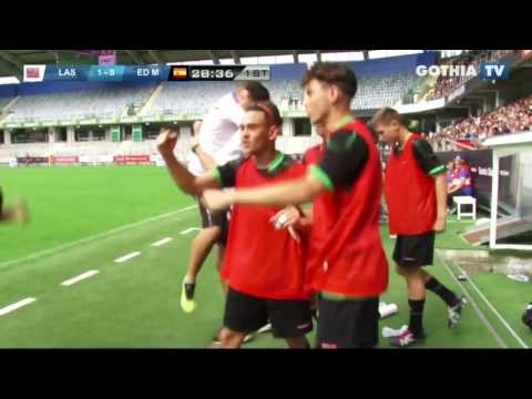 All the goals from B16 LAS VEGAS SPORTS ACADEMY - ED MORATALAZ in Gothia Finals 2016