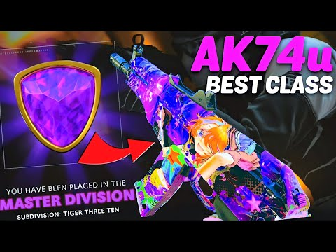 the BEST AK74u SETUP in LEAGUE PLAY! (TRY NOW!)