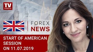 11.07.2019: Powell's dovish comments weigh on USD (USD, CAD)