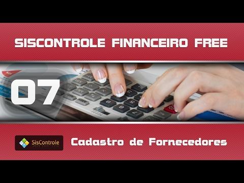 07 Cadastro de Fornecedores - Curso Siscontrole Financeiro Free