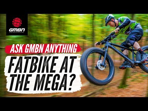 Megavalanche On A Fat Bike"