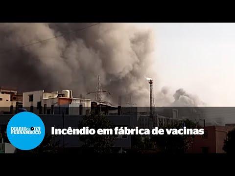 Incêndio em fábrica de vacinas deixa cinco mortos na Índia