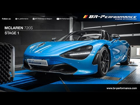 McLaren 720S / Stage 1 By BR-Performance / *FLAMES*