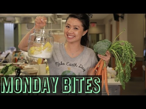 Earth Day Eats with Viv: Carrot Top Pesto + Pickled Broccoli | Food Network