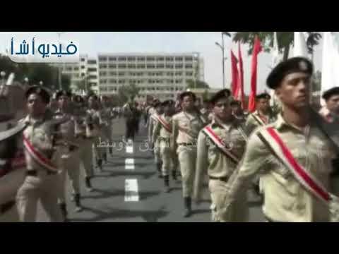 بالفيديو: مسيرة شبابية بسوهاج يقودها المحافظ إحتفالاَ بذكرى إنتصارات أكتوبر