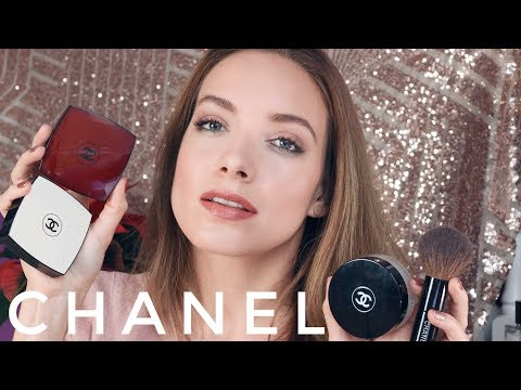 МАКИЯЖ ОДНИМ БРЕНДОМ — CHANEL. Обзор косметики || Katrin from Berlin