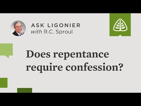Does repentance require confession?