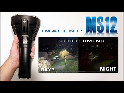 Imalent MS12 53,000 Lumens! REVIEW - UCJDhc5-rs9UfDHqAo-VIFrw