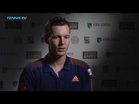Berdych Pleased With Gasquet Win At Rotterdam 2017