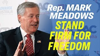 Freedom Is Vital to Prosperity—Rep. Mark Meadows on Hong Kong Protest & Censorship [CPAC Australia]