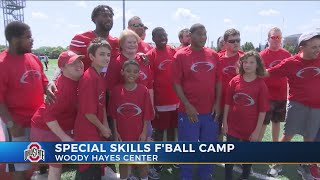 Buckeyes teach, learn from athletes at Special Skills camp