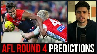 AFL Round 4 Predictions | 2019