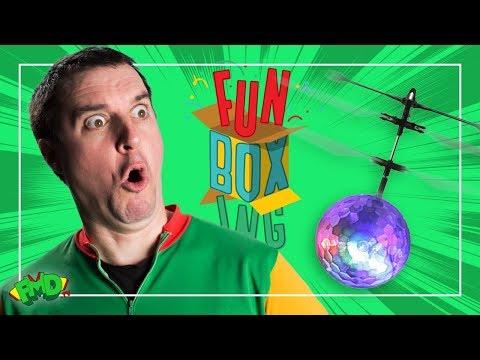 Dan Lights up His Hover Ball!