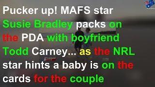 MAFS star packs on PDA with boyfriend