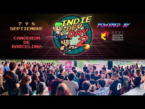 IndieDevDay 2   Evento de Desarrolladores de Videojuegos Indie   Barcelona