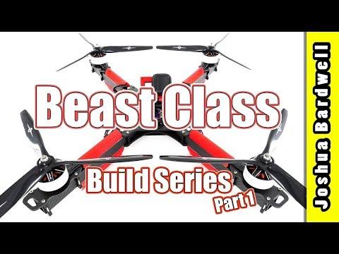 Beast Class X Class Quadcopter Build | CATALYST MACHINEWORKS TASMANIAN - Part 1 - UCX3eufnI7A2I7IkKHZn8KSQ