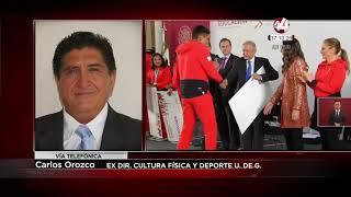 Carlos Manuel Orozco Santillán-  Los Juegos Panamericanos, un éxito familiar