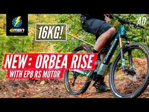 All New 2021 Orbea Rise - 16kg Lightweight Ebike! | EMBN'S First Look
