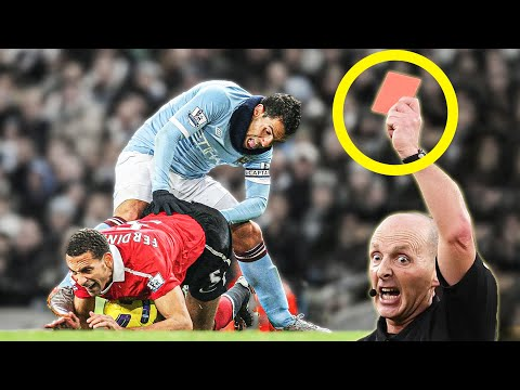10 FASTEST red cards ever