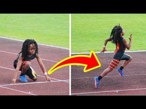 Самый быстрый ребенок в мире! Как ему это удалось?