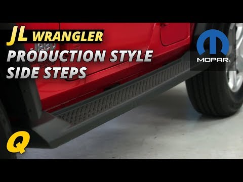Mopar Production Style Side Steps Review for Jeep Wrangler JL