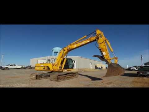 2006 JCB JS220LC excavator for sale | no-reserve Internet auction February 16, 2017