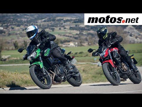 Comparativo Honda CB500F vs Kawasaki Z400  / Prueba / Review en español