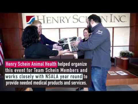 Henry Schein Animal Health/North Shore Animal League Adoption Event