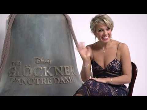 Disneys DER GLÖCKNER VON NOTRE DAME - Sarah Bowden als Esmeralda