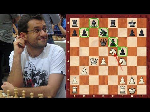 Amazing Chess Game: Levon Aronian vs Sarah Hoolt : Tradewise Gibraltar (2018) - Dutch Defence