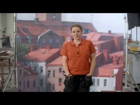 Bli Plåtslagare - Hanna - Stolt Trygg Fri
