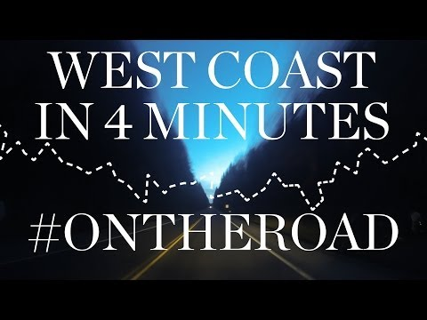 The West Coast in 4 Minutes | Isaora On The Road