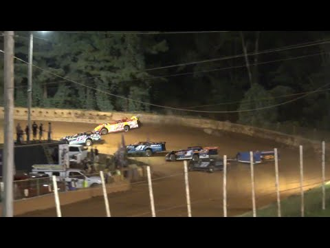 Limited Late Model at Winder Barrow Speedway July 24th 2021 - dirt track racing video image
