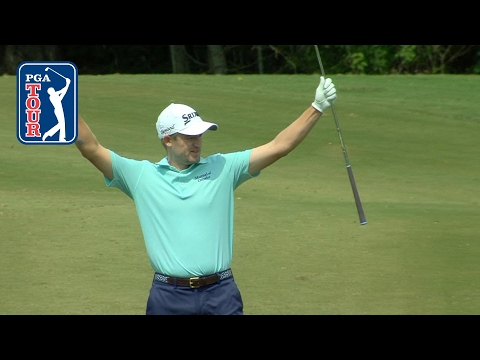 Russell Knox?s approach goes down from 84 yards for the Shot of the Day