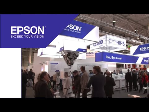 Business printing at CeBIT 2015 | Epson