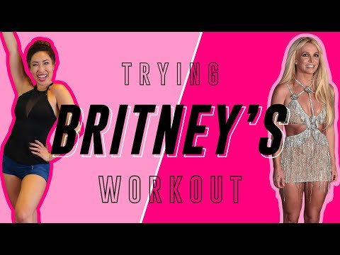 Britney Spears' Hard Abs Workout | Cassey Tries Celebrity Workout