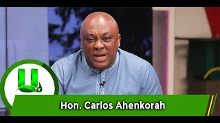 We Don't Have Problem Giving Credits To NDC But...- Carlos Ahinkorah