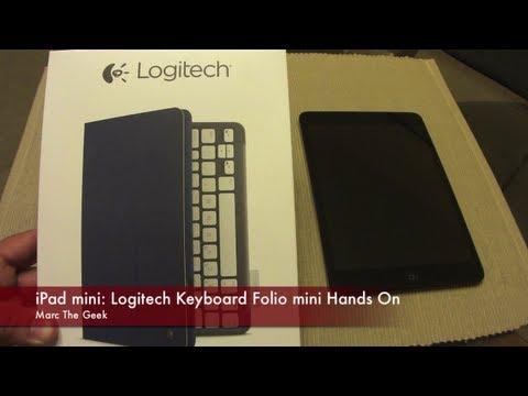 iPad mini: Logitech Keyboard Folio Mini Hands On - UCbFOdwZujd9QCqNwiGrc8nQ