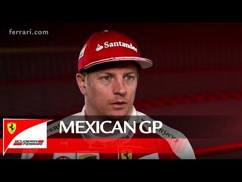 The Mexican GP with Kimi Raikkonen – Scuderia Ferrari 2016
