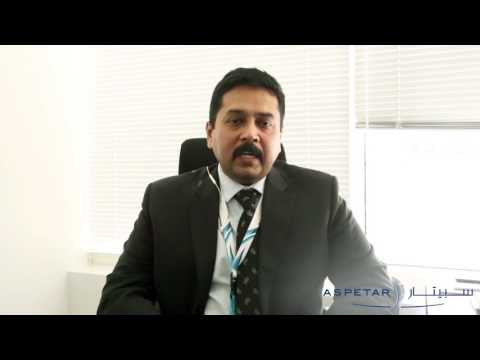 Aspetar Pioneers staff - Anand Nair, Head of Planning and Monitoring