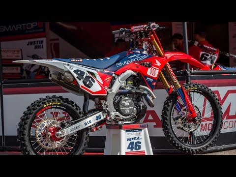 Inside Justin Hill's Motoconcepts Honda CRF450R - Motocross Action Magazine