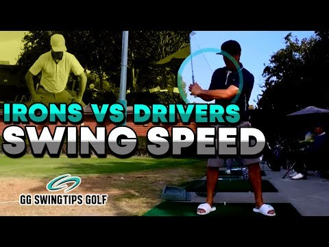 Irons Vs Driver Speed | Golf Swing Tips