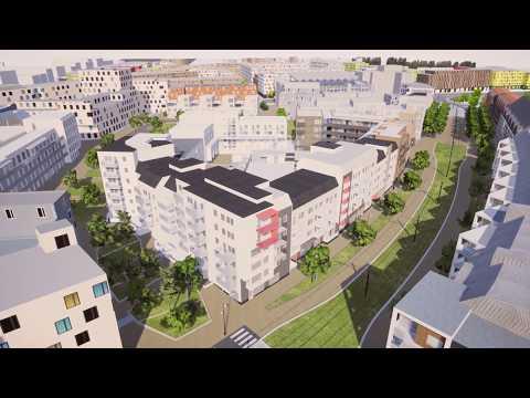 Visualisering: Södra Brunnshög