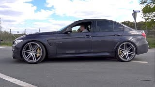 BMW M3 Manhart Trying To Drift!