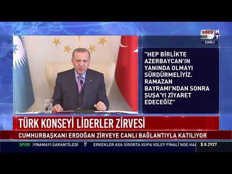 Cumhurbaşkanı Erdoğan, Türk Konseyi Liderler Zirvesi'nde konuşuyor #CANLI